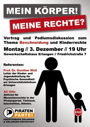 Vortragshinweis: Beschneidung und Kinderrechte am 3.12.2012